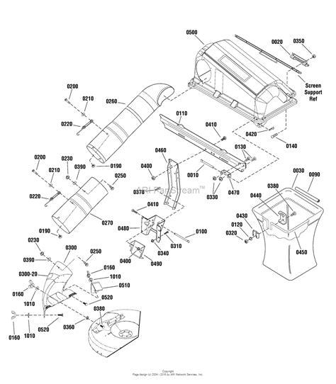 catcher diagram simplicity 7600192 grass catcher parts diagram for