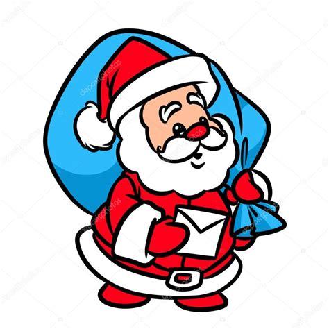 imagenes de santa claus navideñas animadas dibujos animados de carta de navidad santa claus foto de