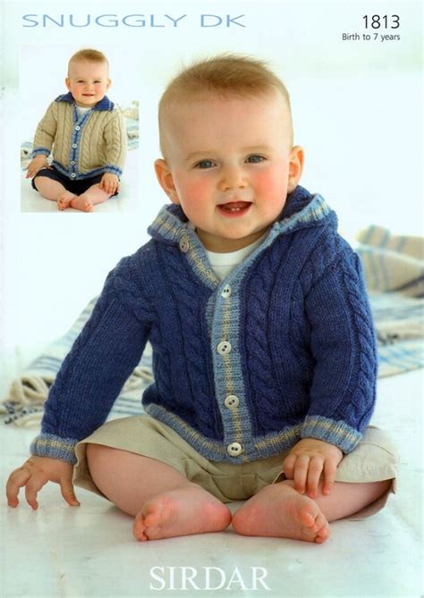 sirdar baby knitting patterns free sirdar baby jackets knitting pattern 1813 dk knitting