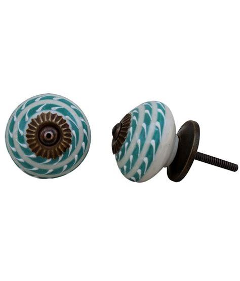 Handmade Knobs - buy indianshelf ceramic handmade door handles and knobs