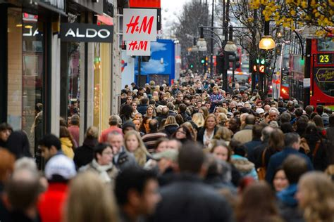 sales up 10 per cent in west end christmas shopping spree
