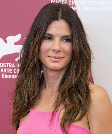 Sandra Bullock Long Straight Casual Hairstyle