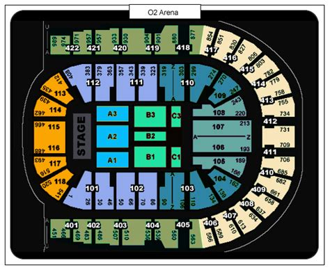 02 arena floor plan 02 arena floor plan 28 images ot the o2 arena o2 arena seating plan detailed seat numbers
