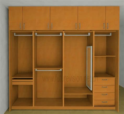 Clothes Cupboard | modern bedroom clothes cabinet wardrobe design abode