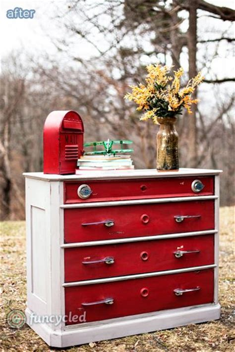 Antique Car Decor by Totally Innovative Dresser Makeover Using Antique Car Parts On Betterafter Net Repurposed