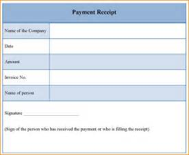 Template For Receipt by 10 Payment Receipt Template Invoice Template