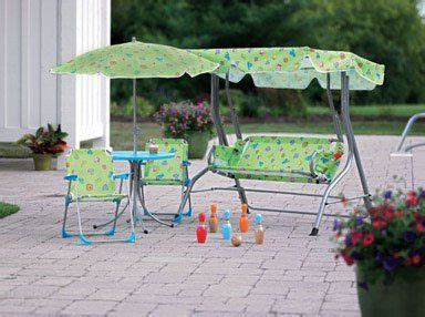 kids swing bench 74 best images about kids outdoor furniture on pinterest