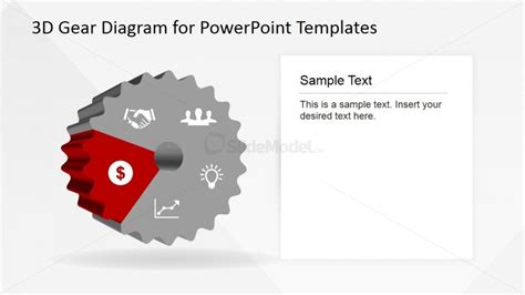 powerpoint themes greyed out powerpoint dollar sign icon in 3d gear
