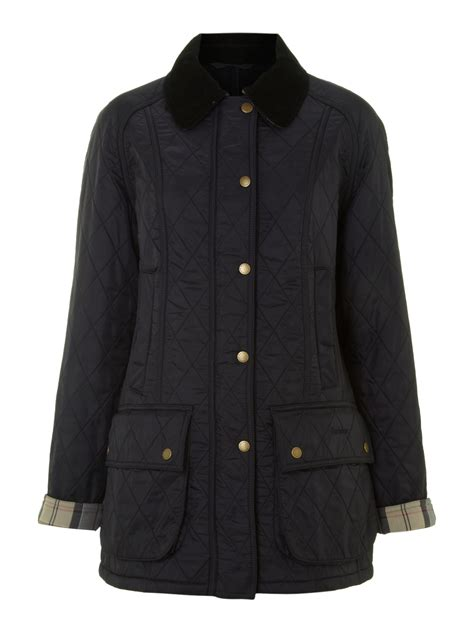 Barbour Quilted Beadnell by Barbour Quilted Wax Beadnell In Black Lyst