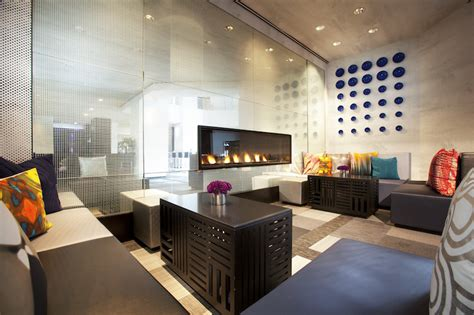 the living room at the w hotel 10 hotel lobbies to work from in la sf nyc and chicago