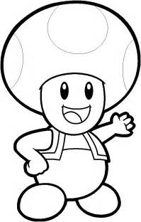 free coloring pages of blue toad mario