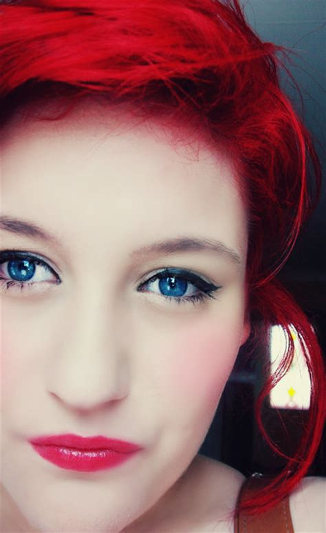 bright red hair tutorial makeup tutorials for blue eyes red hair fay blog