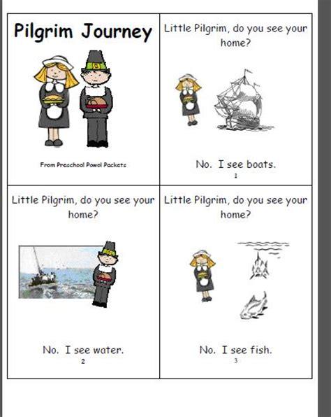 printable turkey mini books free mini book pilgrim journey preschool powol packets