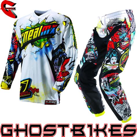 motocross jersey and combo oneal 2013 element villain junior youth motocross