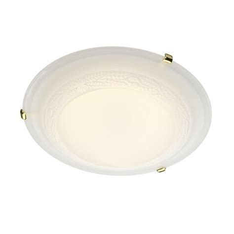 Decorative Alabaster Glass Led Flush Ceiling Light For Low Low Ceiling Lighting