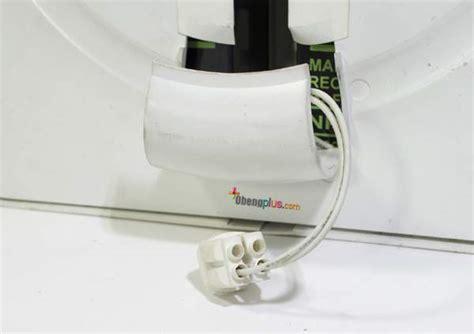 Kabel Power Segitiga Untuk Lu Neon Led Tl T5 T8 Menganti Lu Emergency Dengan Lu Led