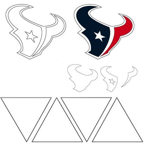 houston texans logo template 180 best templates images on plants vs zombies