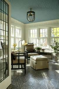 Sunroom Paint Color Ideas Turquoise Beadboard Sunroom Ceiling I Want To Have My