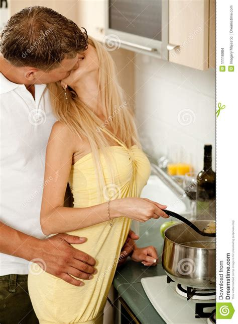in the kitchen stock images image 11116984