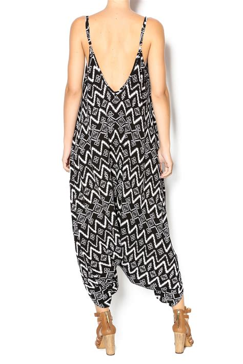 Jump Genie Jumpsuit twist ikat genie jumpsuit from santa shoptiques
