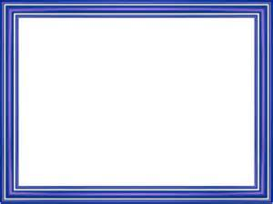 indigo elegant 3 separate bands rectangular powerpoint