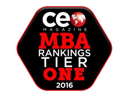 Global Mba Rankings 2016 by Ceo Magazine S 2016 Global Mba Rankings Ceo Magazine