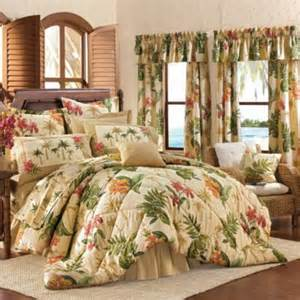 Tropical Comforters Green Leaves White Queen Comforter Discount Bedding Sets