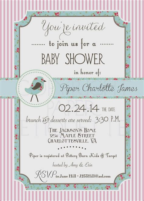 Sprinkle Baby Shower Etiquette by Paper Etiquette December 2013