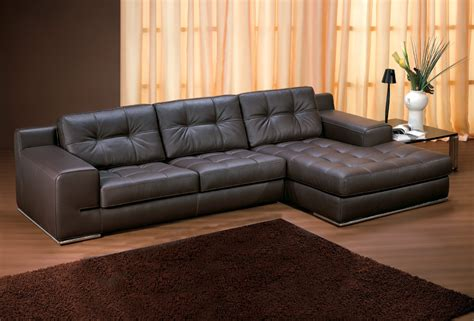 Leather Sectional Sofas With Chaise Lounge Sofas Fiori Leather Chaise Lounge Sofa Sofa