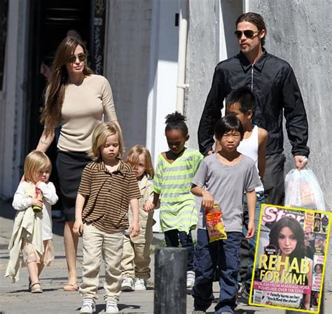 Brangelina And Baby Makes Six by Brad Pitt And S Bad Behavior At