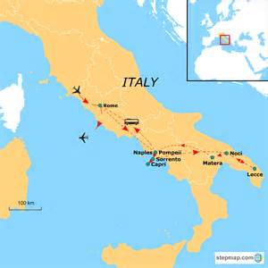 Sorrento Italy Map by Map Of Italy Sorrento