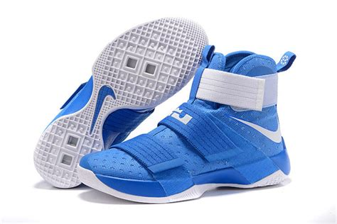 uk basketball shoes nike lebron soldier 10 royal blue silver kentucky