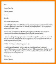 Resignation Letter For Change by 7 Resign Letter Format In Word Blank Budget Sheet