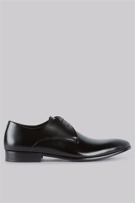 black derby shoes white compton black derby shoes