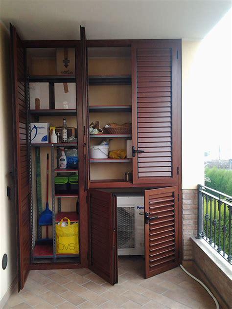 armadi balcone realizzazioni allu fer idea