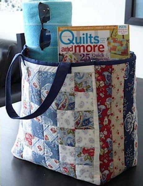 Patchwork Bags Patterns - 25 unique patchwork bags ideas on quilt bag