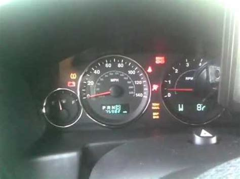 Jeep Patriot Warning Lights Jeep Commander Dash Lights On And