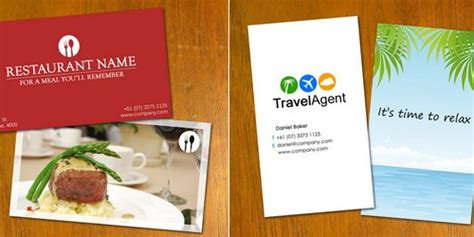 restaurant business cards templates free deshawnta s this editable template allows you to add