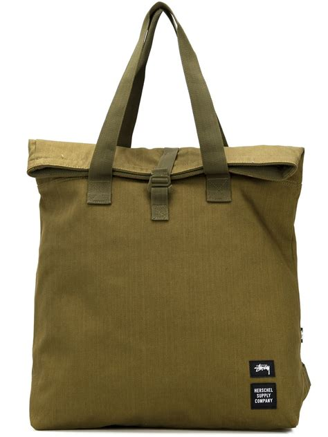 Designer Diane Furstenberg Go Green Canvas Tote by Lyst Stussy Canvas Tote Bag In Green
