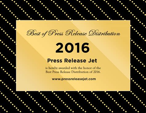 best press releases best press release distribution services 2016 announced