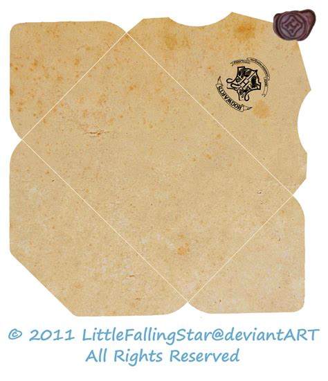 Letter Envelope Template Resume Template Sle Hogwarts Acceptance Letter Envelope Template Printable