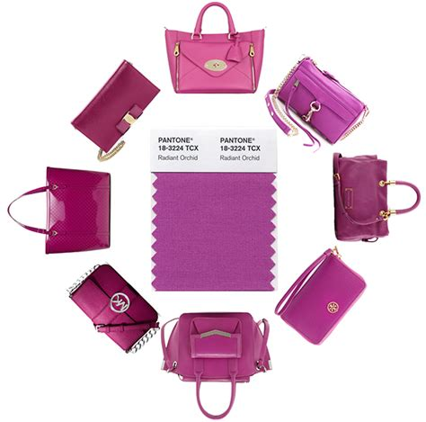 you re going to want a quot radiant orchid quot bag in 2014 because pantone says so purseblog