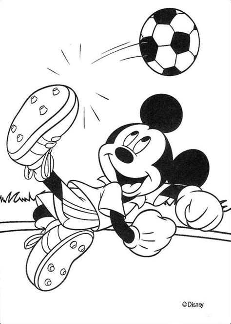 disney football coloring page mickey mouse coloring pages mickey mouse is playing football