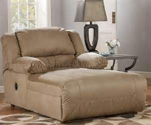 Big and comfortable chaise lounger for the living room