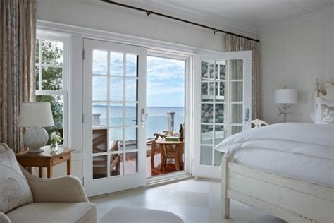 beachy neutral bedroom louvered doors boho beach style french doors love them or hate them