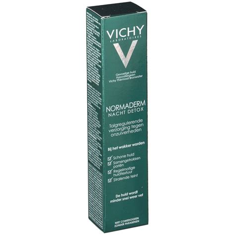 Vichy Normaderm Nuit Detox by Vichy Normaderm Nuit Detox Shop Pharmacie Fr