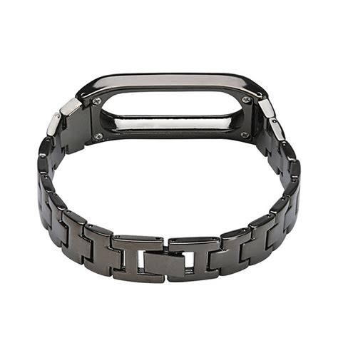 Watchband Stainless Steel Xiaomi Mi Band 2 watchband stainless steel xiaomi mi band 2 black jakartanotebook