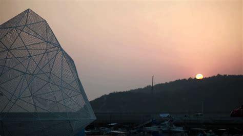 designboom sou fujimoto sou fujimoto s geometric naoshima pavilion opens in kagawa