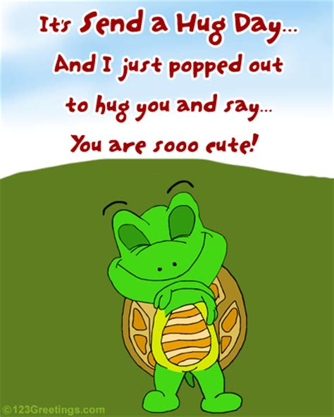 a hug for someone sooo cute free cute hugs ecards