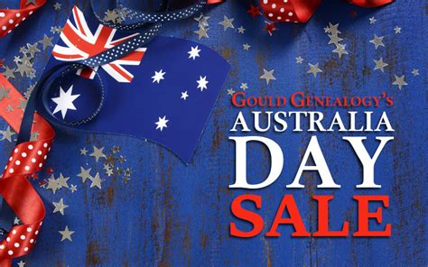 s day australia gould genealogy s australia day sale